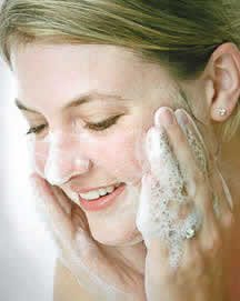 should you wash your face with liquid or bar soap